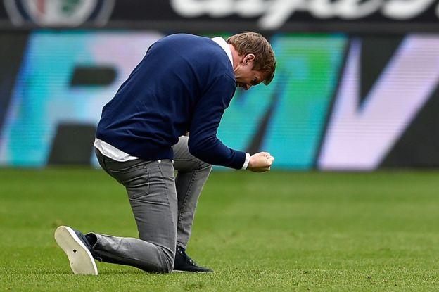 Para muchos la clave de su éxito radica en el técnico Julian Nagelsmann, el más joven en la historia de la Bundesliga. (Getty Images)