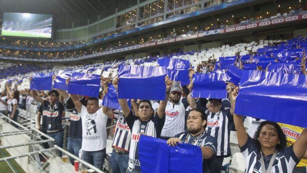 El estadio BBVA Bancomer de Monterrey es el más nuevo en México y podría ser uno de los elegidos si México coorganiza el Mundial de 2026. (GETTY IMAGES)
