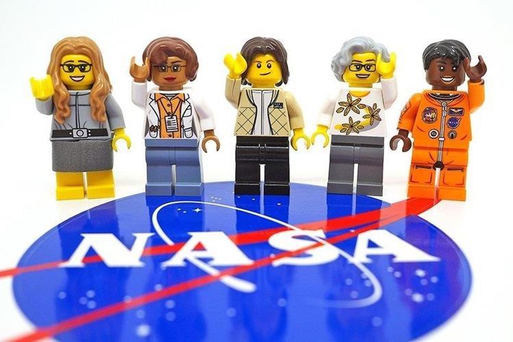 Lego destacará el talento de las mujeres en la NASA por medio de una nueva colección de piezas. (Foto Prensa Libre: Lego)