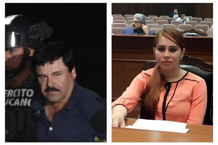 A Lucero Guadalupe Sánchez López la vinculan con el Chapo Guzmán. (Foto Prensa Libre: HemerotecaPL)