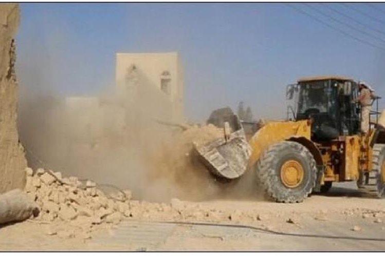 <em>El Estado Islámico destruye monasterio católico en Siria.</em>