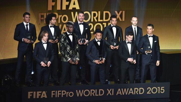 Un hipotético equipo de las estrellas de España no sería muy diferente al que fue elegido como el once ideal del mundo por la FIFA. (Getty Images)