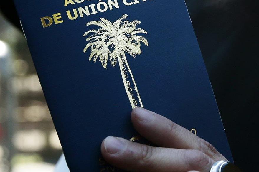 La ley de Acuerdo de Unión Civil entró este jueves en vigor. (Foto Prensa Libre: EFE).