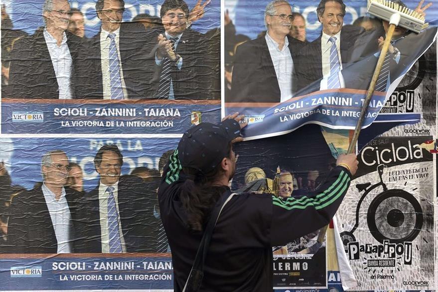 Los argentinos tienen una cita con las urnas este domingo. (Foto Prensa Libre: AFP).