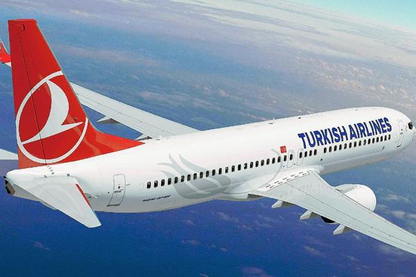 Un avión de la compañía aérea turca Turkish Airlines rebió una alerta de bomba. (Internet)