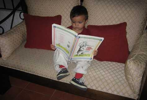 El hábito de la lectura se debe inculcar desde los primeros años de vida.