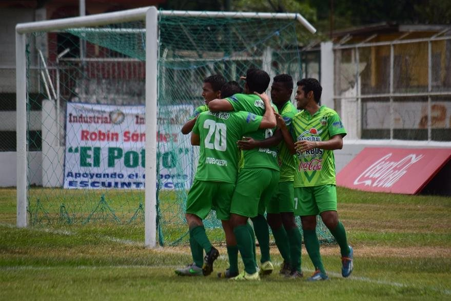 Escuintla-Heredia es el monarca del Apertura 2015. (Foto Prensa Libre: Hemeroteca PL)