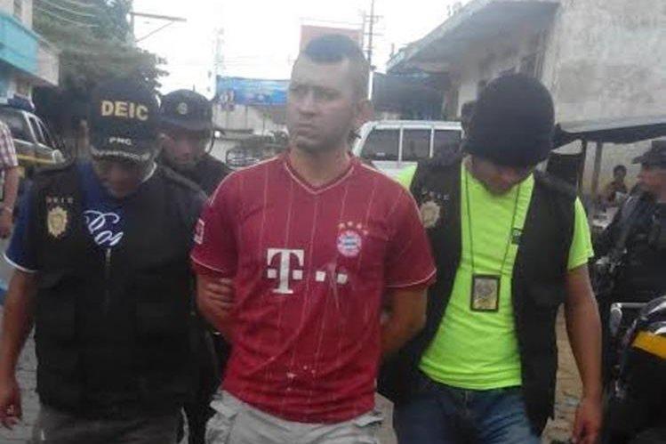 Abel Alberto Ochoa es sindicado de haber participado en un ataque armado. (Foto Prensa Libre: Cortesía PNC).