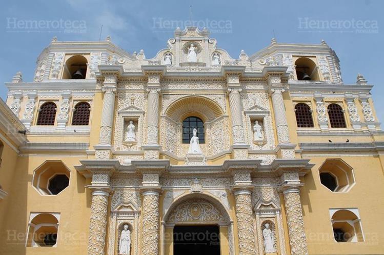 Fachada del templo de la Merced. (Foto: Hugo Cuyán Vásquez)