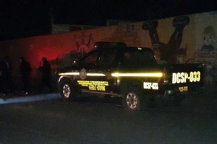 Un agente quedó herido en el ataque perpetrado en Quetzaltenango. (Foto: El Quetzalteco)