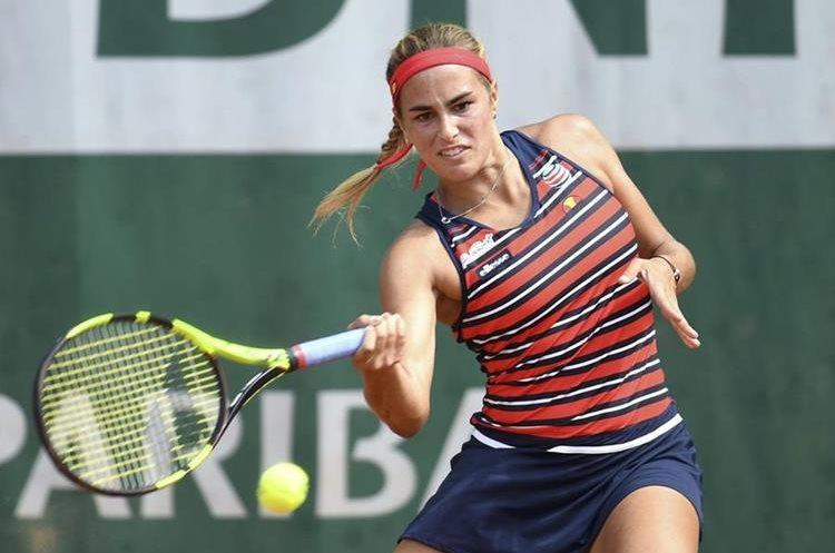 Monica Puig no pudo avanzar a siguiente ronda.  (Foto Prensa Libre: AFP)