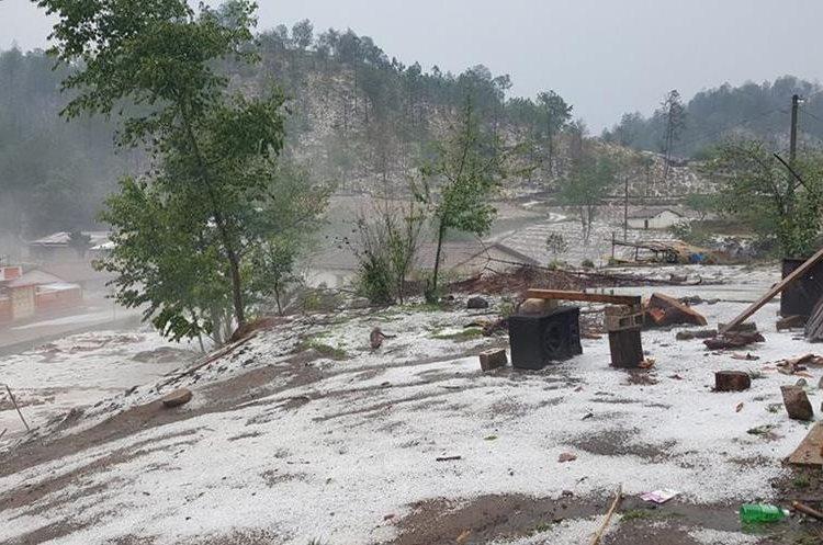 Antes de la lluvia, Totonicapán registró una temperatura máxima de 27 grados. (Foto Prensa Libre: Producciones García).