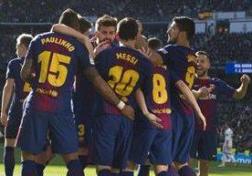 Con goles de Luis Suárez, Lionel Messi y Aleix Vidal, el Barcelona se impone 0-3 al Real Madrid.