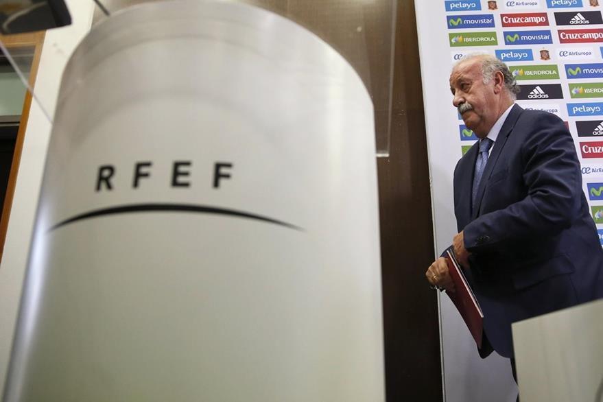 Del Bosque entregará la lista final de los jugadores convocados a la Euro de Francia el martes 31 de mayo. (Foto Prensa Libre: EFE)