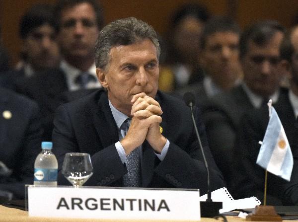 El presidente de Argentina, Maurucio Macri participa en la 49 Cumbre de Mercosur.