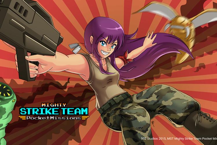 Mighty Strike Team está disponible para dispositivos iOS y Android. (Foto Prensa Libre: Hemeroteca PL).