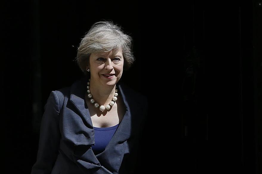 La ministra del Interior, Theresa May, será la segunda mujer primer ministro del Reino Unido tras la conservadora Margaret Thatcher. (Foto Prensa Libre: AP).