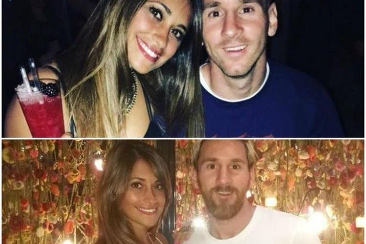 Lionel Messi y Antonella Roccuzzo se casan este viernes en Rosario. (Foto Prensa Libre: Twitter)