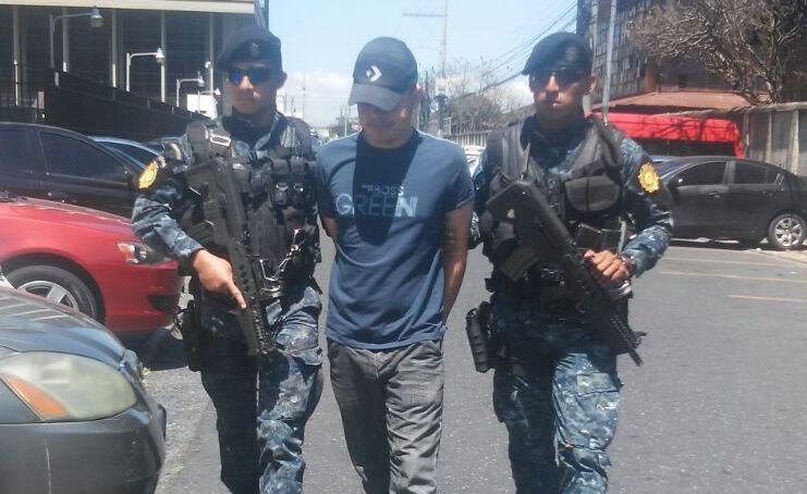 Willian Reynieri Medina Escobar es reclamado por autoridades de Estados Unidos. (Foto Prensa Libre: PNC)