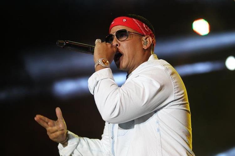 Daddy Yankee, agradeció a sus seguidores por el apoyo que le brindan. (Foto Prensa Libre: Erick Avila)