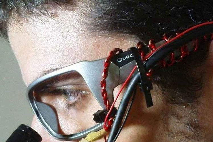 El científico Zacharias Vamvakousis, uno de los desarolladores del instrumento The EyeHarp.