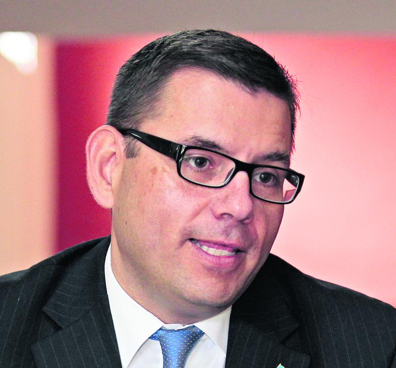 Manuel Baldizón, candidato presidencial por el partido Líder.
