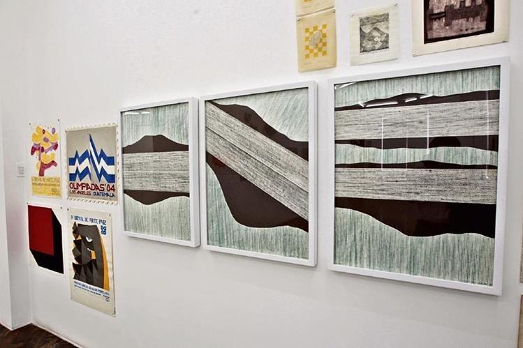 El espacio llamado 99 obras en papel de medio siglo es parte de la muestra Retrospectiva.
