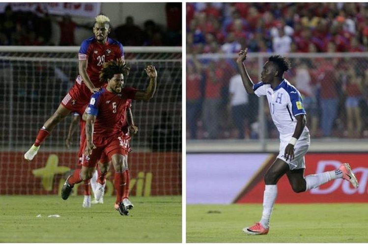 Panamá rescató el empate en el último minuto contra Honduras con el 2-2 sobre el final. Los panameños quedaron en cuarto lugar de la tabla de la hexagonal. (Foto Prensa Libre: EFE)