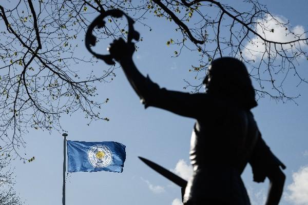 En la ciudad se observa un monumento al rey Richard III. (Foto Prensa Libre: AFP)