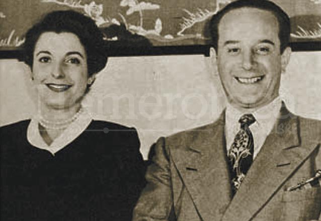 Jacobo Árbenz y su esposa María Cristina Vilanova. (Foto: Hemeroteca PL)