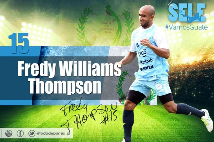 Fredy Thompson es la principal figura en la contención del país. (Foto Prensa Libre)
