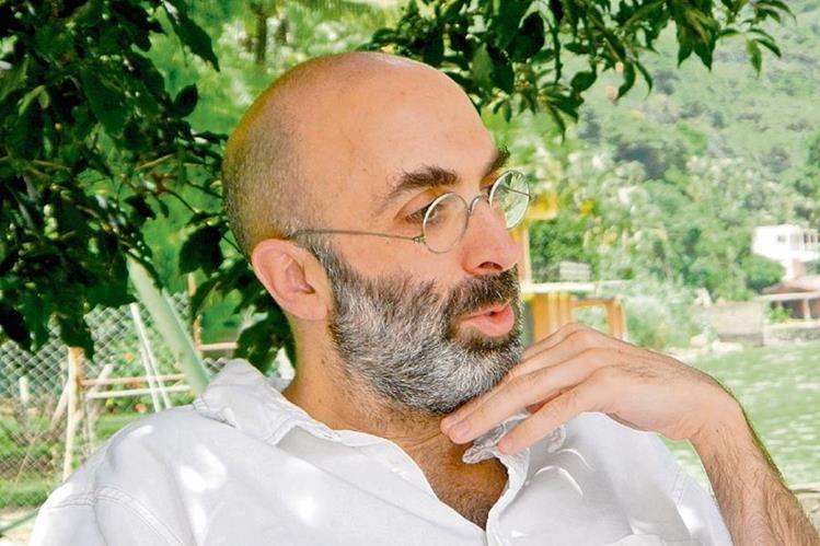 Eduardo Halfon es considerado uno de los escritores más representativos de Latinoamérica. (Foto Prensa Libre: Cortesía Álvaro Hurtado)