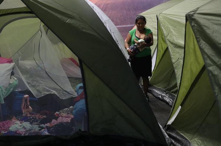 Los albergados recibirán tres tiempos de comida, según autoridades de Cáritas de Guatemala.