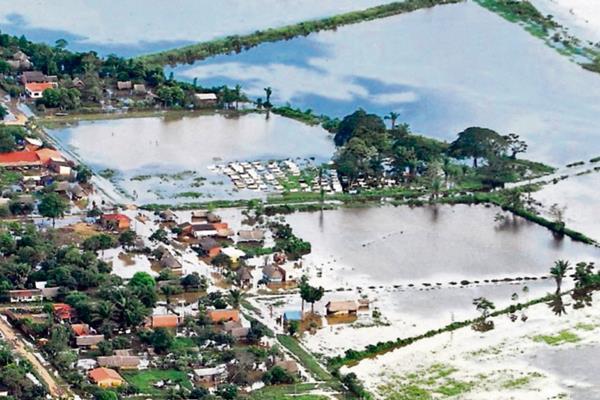 Bolivia es afectada por serias inundaciones.