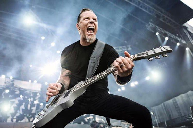 El vocalista de Metallica, James Hetfield, da su opinión sobre las celebridades. (Foto Prensa Libre: Hemeroteca PL)