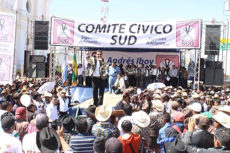 En Sololá el comité cívico SUD compite por la alcaldía de la cabecera departamental.(Foto Prensa Libre: Tomada de Facebook)