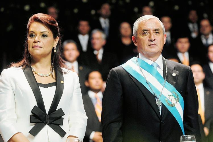 La popularidad del binominio presidencial atraviesa unos de sus peores momentos de su gestión. (Foto Prensa Libre: Hemeroteca C PL)