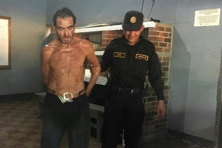 José Natividad Franco fue capturado como presunto responsable del ataque contra la menor. (Foto Prensa Libre: PNC)