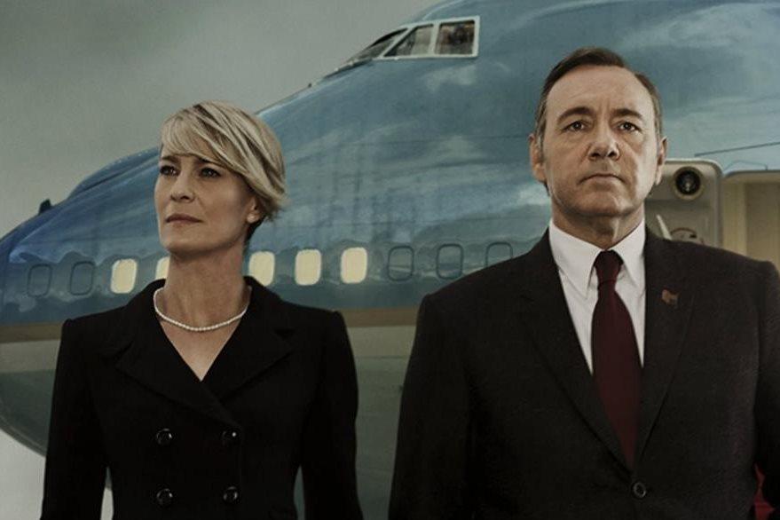 Robin Wright y Kevin Spacey son los protagonistas de la serie de Netflix. (Foto Prensa Libre: Hemeroteca PL)