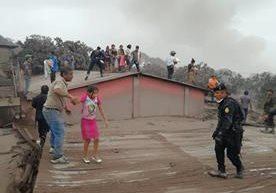 Personas fallecidas y heridas es el resultado de la actividad del volcán de Fuego