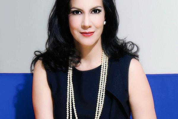 Zury Ríos fue presentada hoy como la precandidata presidencial por el partido Viva. (Foto Prensa Libre: Facebook de Zury Ríos).
