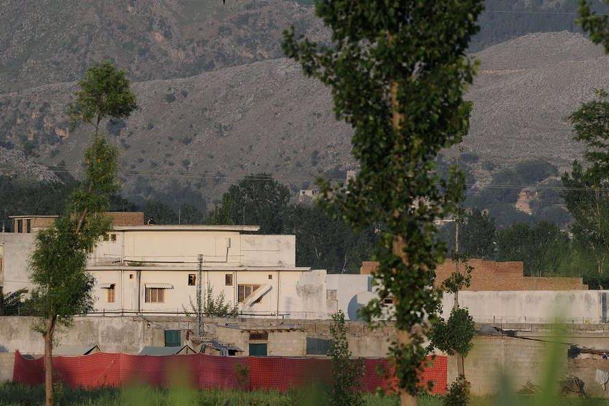 La guarida de Bin Laden en Abbottabad, Pakistán al día siguiente de la muerte del lider de Al Qaeda. (Foto: AFP)