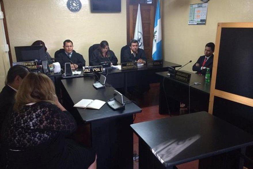 Tribunal donde se dictó la sentencia en Cobán, Alta Verapaz. (Foto Prensa Libre: Eduardo Sam)
