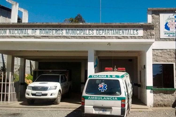 El albergue fue instalado dentro de la sede de los Bomberos Municipales Departamentales. (Foto Prensa Libre: Whitmer Barrera)