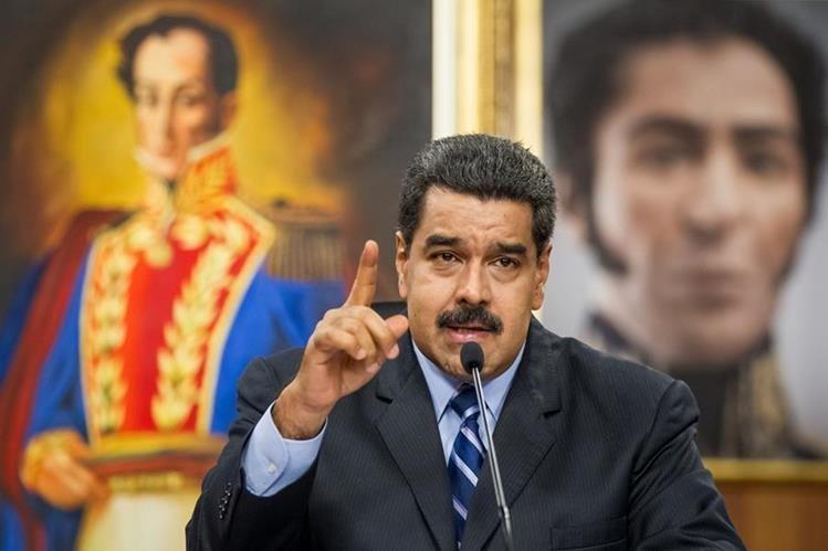 El presidente de Venezuela, Nicolás Maduro descartó que ese país vaya a una guerra civil. (Foto Prensa Libre: Hemeroteca PL)