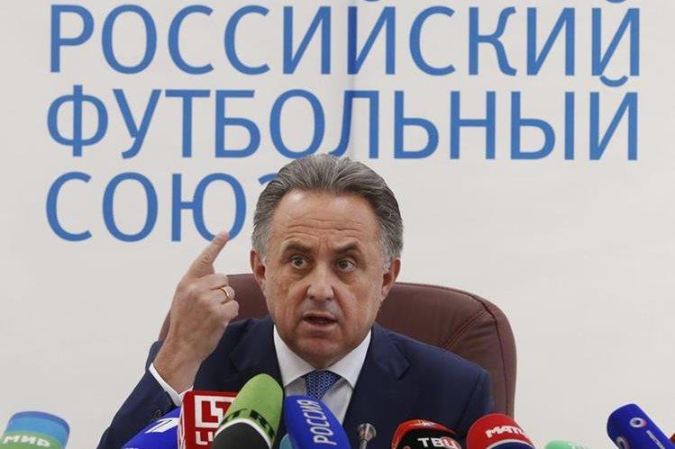 El ministro de deportes de Rusia, Vitaly Mutko agradece al COI el permitirle participar en los Juegos Olímpicos. (Foto Prensa Libre: EFE)