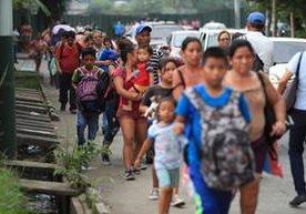 Pobladores continúan con temor en Escuintla