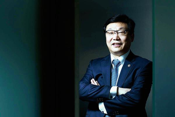 Hyunghwan Joo, dijo que Corea del Sur y América Latina, son complementarias.  (Foto Prensa Libre: Hemeroteca.)