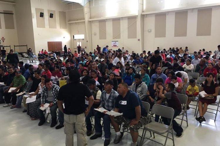 TSE cree que guatemaltecos en EE. UU. no acudirían a votar por temor a ser detenidos por la administración de Donald Trump. (Foto Prensa Libre: Hemeroteca PL)