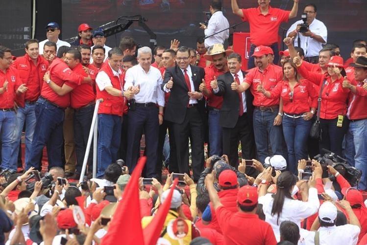 El partido Líder que impulsó a Manuel Baldizón a la presidencia es cancelado por el Registro de Ciudadanos. (Foto Prensa Libre: Hemeroteca PL)